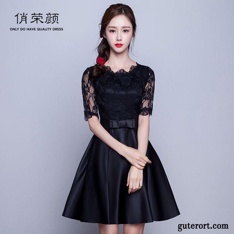 Damen kleider schwarz weiss