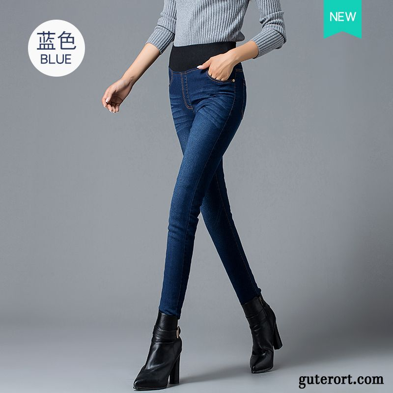 skinny jeans mit l chern damen gestreift braune jeanshose damen kaufen. Black Bedroom Furniture Sets. Home Design Ideas