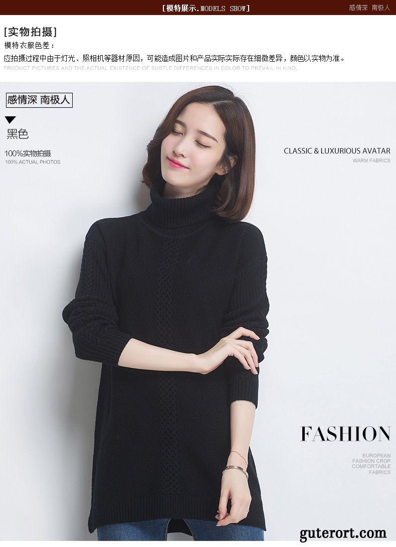 low priced ed60a 8479a Warme Pullover Damen Grau, Damen Pullis Günstig Kaufen