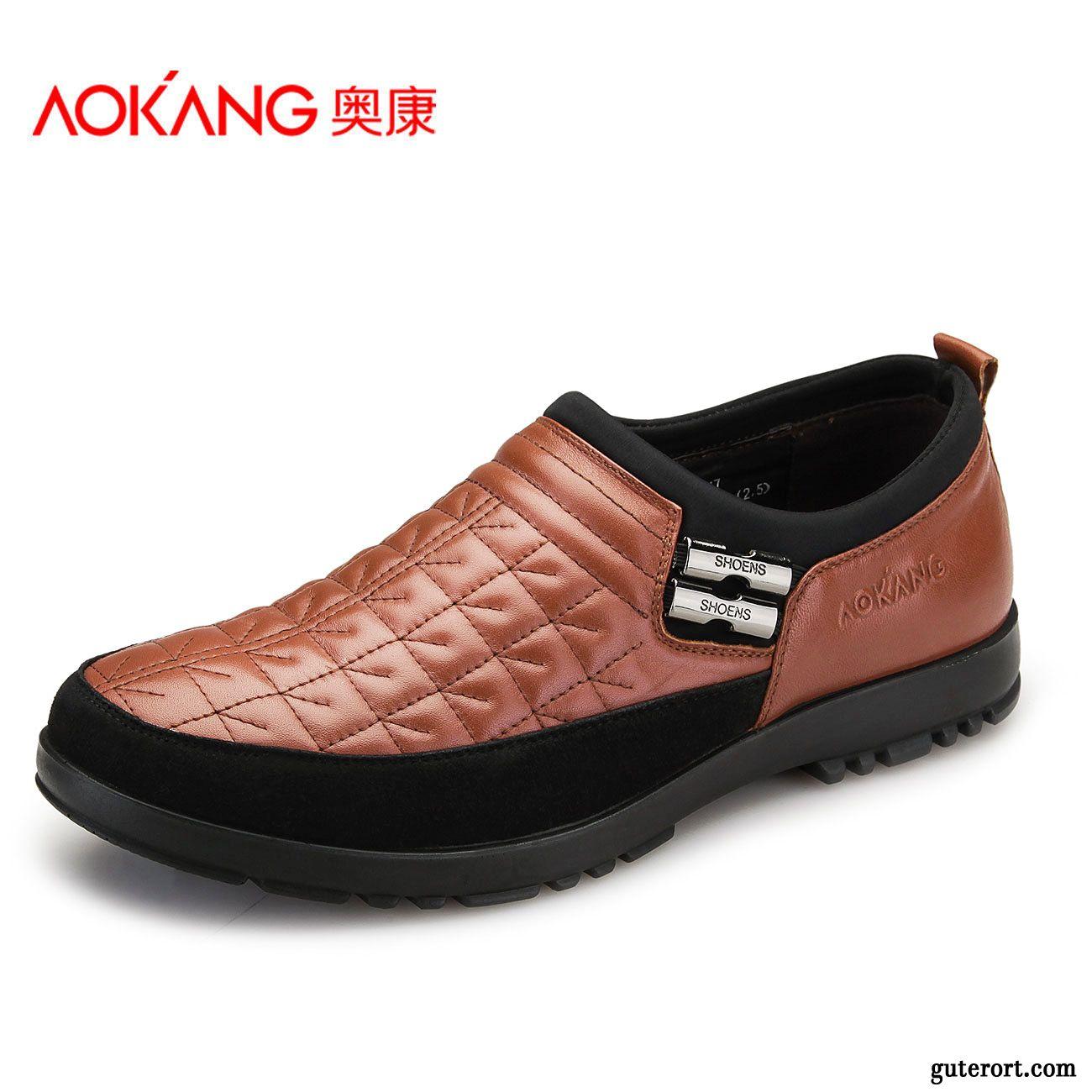 Schuhe leder cognac