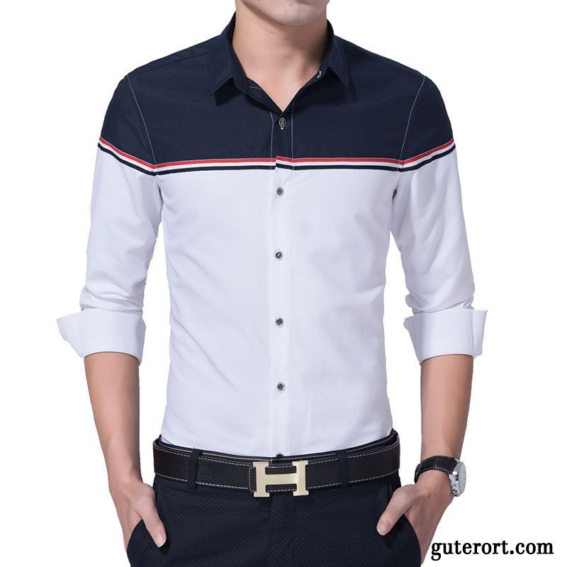 Hemden Regular Fit Gelb, Flanellhemd Herren Slim Fit Billig