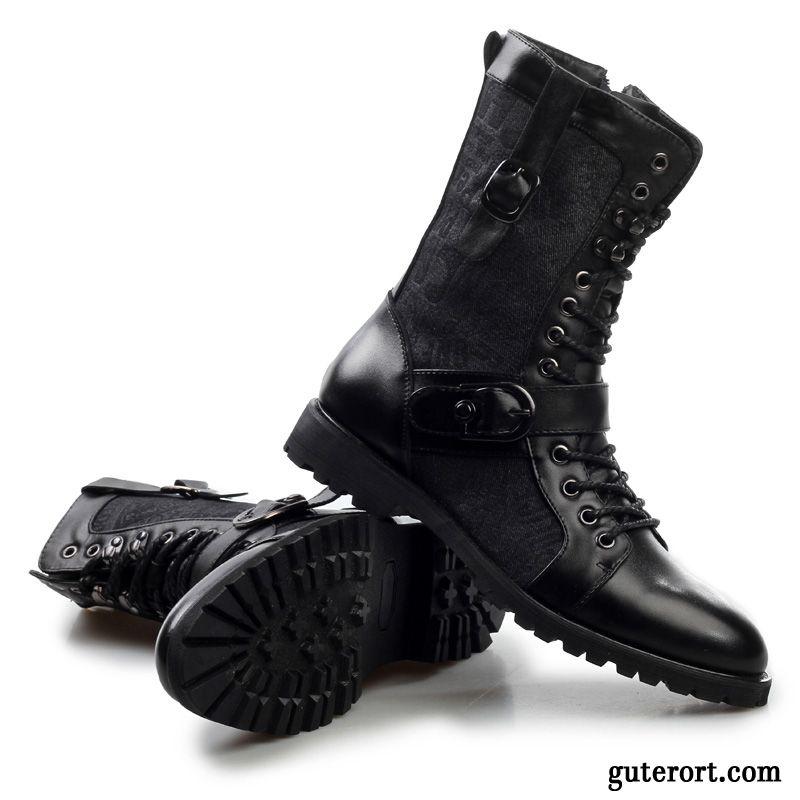 Hochzeitsschuhe Manner Billig Boots Leder Herren Stiefel Lachsrosa