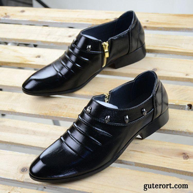 new styles 4ecf3 66980 Leder Schuhe Herren Cognac Billig, Männer Schuhe Elegant ...
