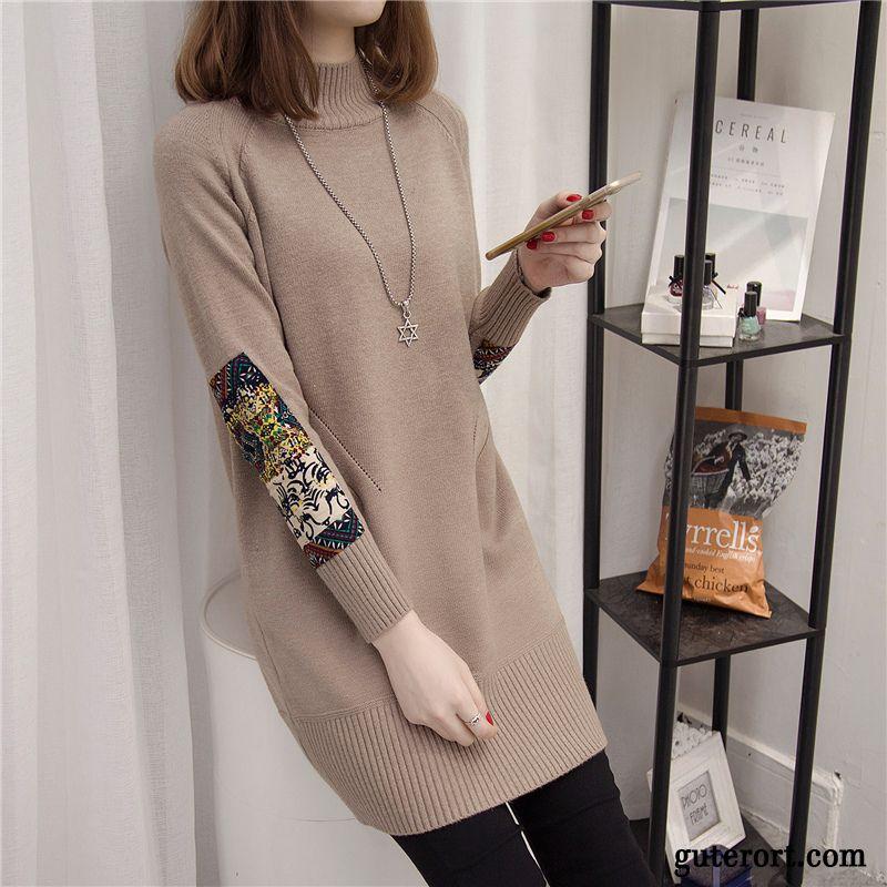 Sonderrabatt beste Schuhe Modern und elegant in der Mode Pullover Ältere Damen Billig, Moderne Pullover Damen Kupfer