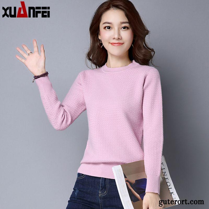 timeless design 71bba aa5ec Pullover Mit Stehkragen Damen, Pullover Damen Pink Braun