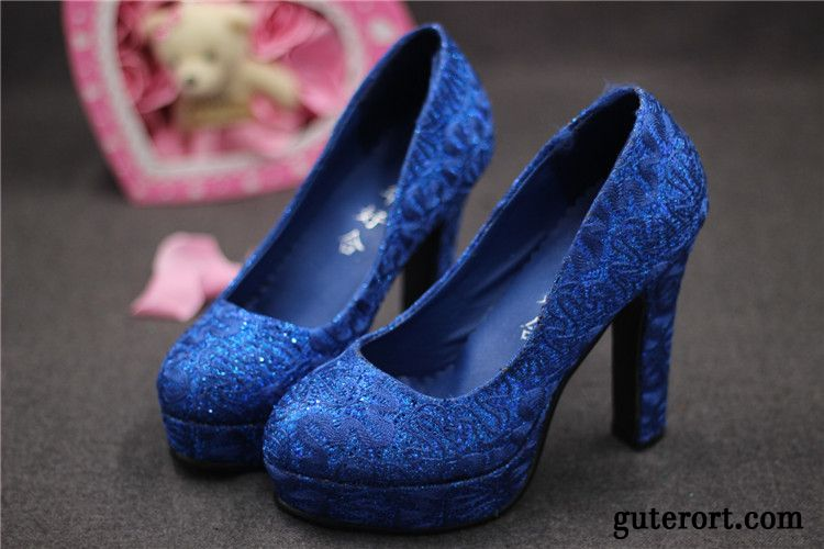 Glitzer schuhe blau