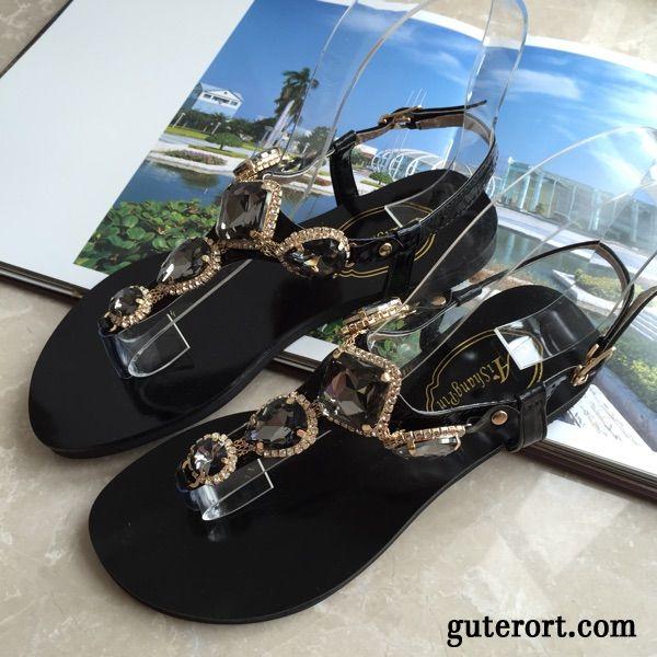 Damen Sandalen KhakiHohe Sandaletten Billig Gold Silber htCrdsQxB