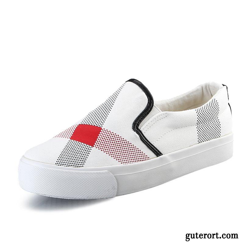 Weiß Schuhe Schnürschuhe Damen Schüler Halbschuhe Europa