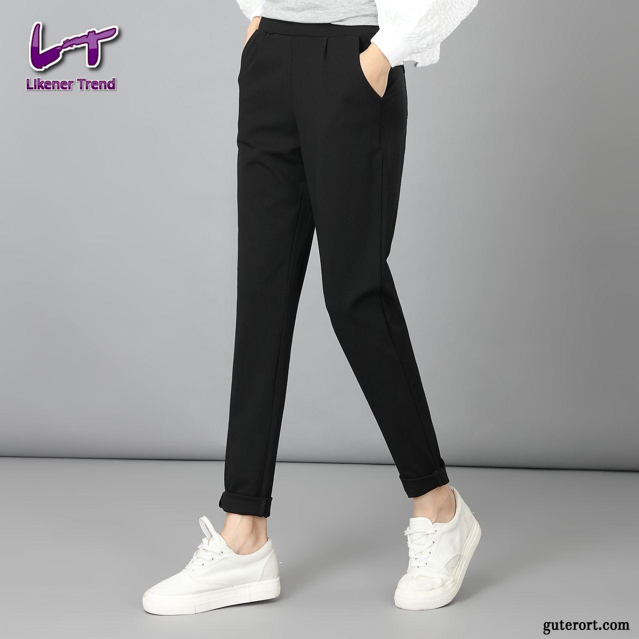 f914089f70138d Stretch Damenhosen, Schwarze Hose Kaufen Weiß