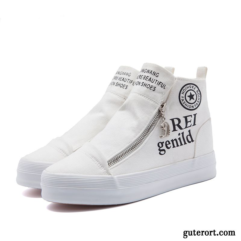 buy online ec894 1e4a4 Weiße Damen Sneaker Sportschuhe Das Lila, Sportliche Schuhe ...